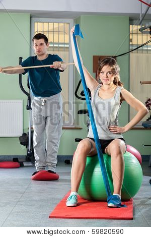 People In Fitness Center