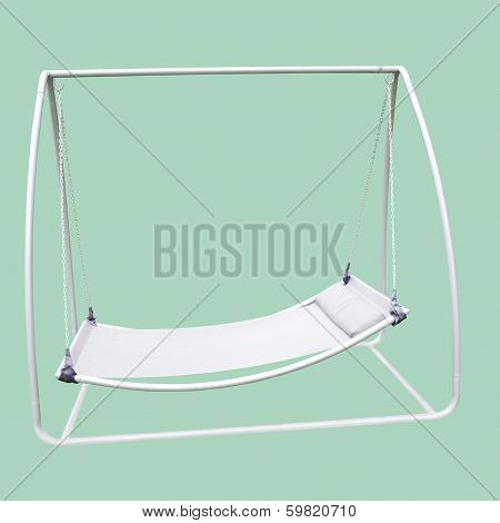 Isolated Swing Sunbed