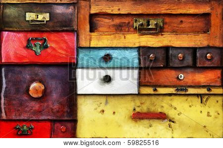 Old Drawers
