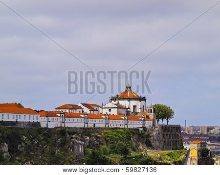 Sierra Do Pilar Monastery In Porto