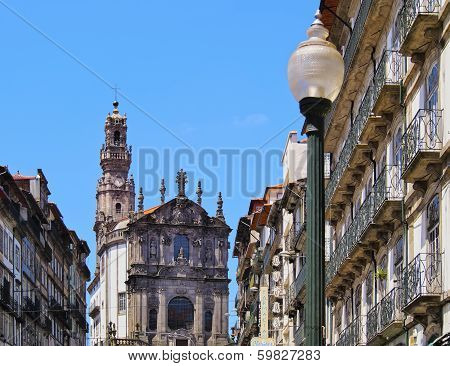 Clerigos Church In Porto
