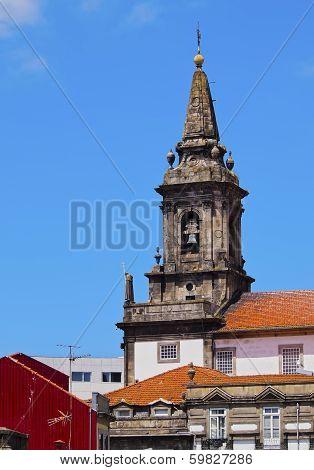 Trinidade Church In Porto