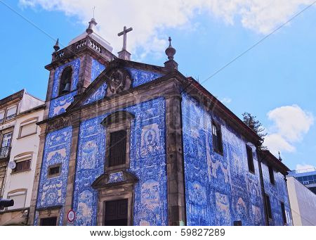 Almas Chapel In Porto