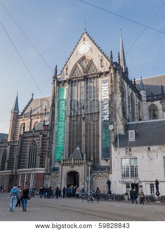 The 'new Church' In Amsterdam