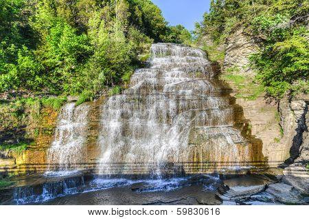 Hector Falls, Finger Lakes, Ny