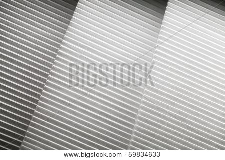 Abstract Photo Background With White Louvers Layers