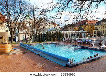 Gellert Bath In Budapest