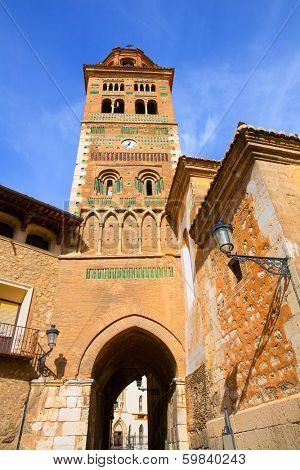 Aragon Teruel Mudejar Cathedral Santa Mar�?�?�?�a Mediavilla UNESCO heritage in Spain