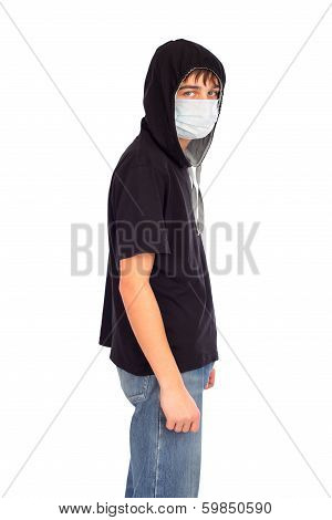Teenager In The Mask