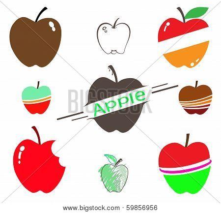 The Set Of Apple