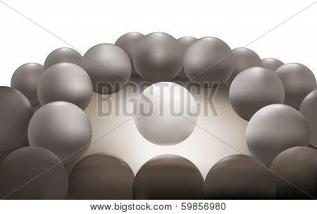 The Shining Abstract Circle