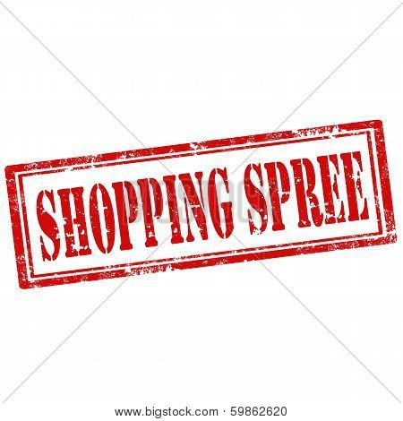 Shopping Spree-stamp