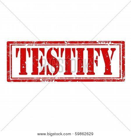 Testify-stamp