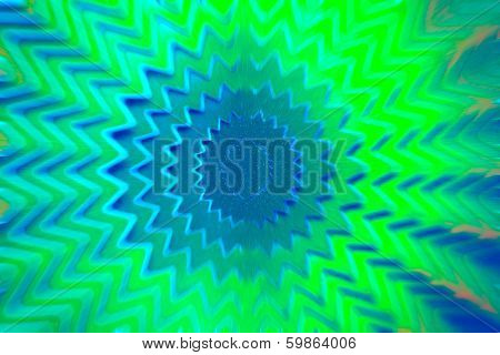 Star Green Background