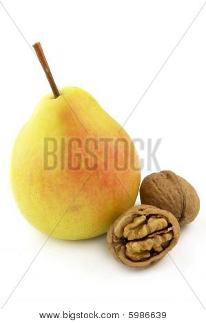Pear With Walnut