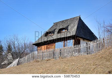 Rustic Wooden House