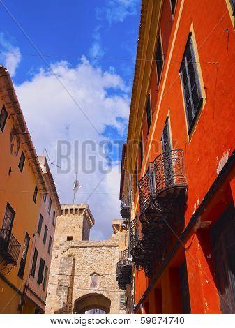 Sant Roc Gate In Mahon On Minorca