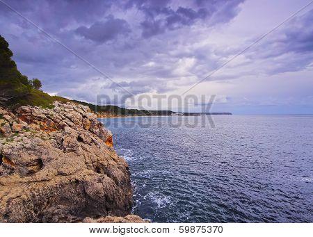 Southern Coastline Of Minorca