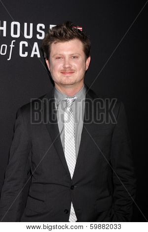 LOS ANGELES - FEB 13:  Beau Willimon at the