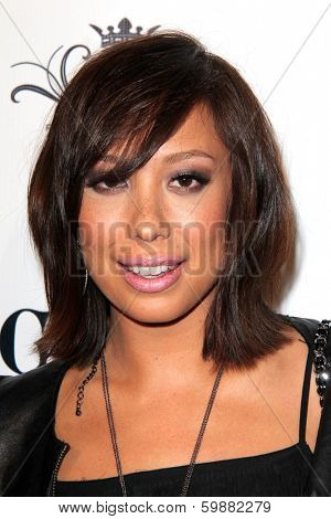 LOS ANGELES - FEB 15:  Cheryl Burke at the Paris Hilton Birthday Party, at Greystone Manor on February 15, 2014 in Los Angeles, CA