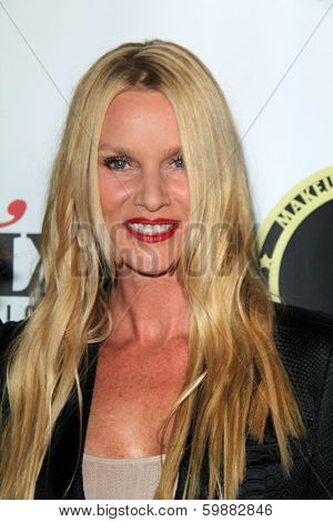 LOS ANGELES - FEB 15:  Nicolette Sheridan at the Annual Make-Up Artists And Hair Stylists Guild Awards at Paramount Theater on February 15, 2014 in Los Angeles, CA