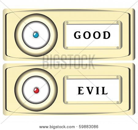 Stylized Doorbell Button