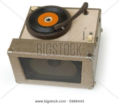 1950er Jahre phonograph