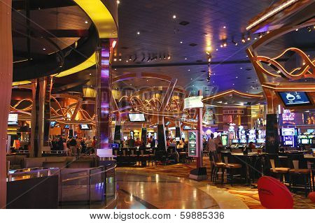 Casino In  New York-new York Hotel And Casino In Las Vegas .