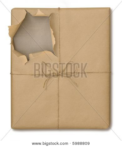 Brown Paper Package Opened