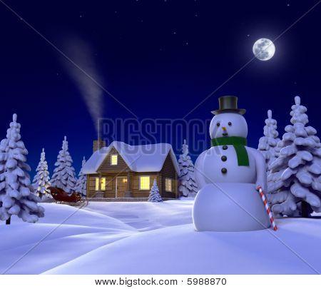 Snowmanscene