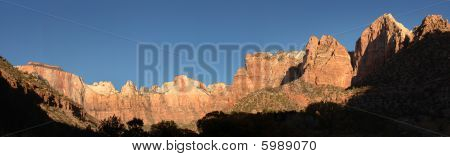Zion-Nationalpark panorama