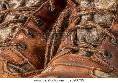 Worn Hunting Boot
