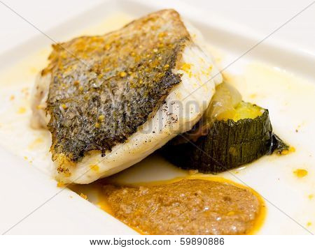 Pan-fried Gilt Head Bream