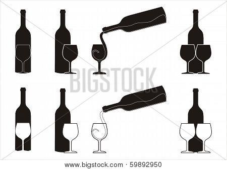 Wine Silhouetes