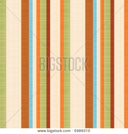 Seamless striped fabric pattern