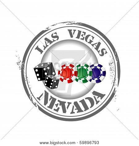 Stamp Welcome Las Vegas