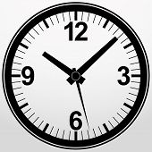 picture of analog clock  - Analog clock icon - JPG