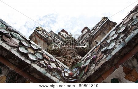 Uprisen View At Arun Temple Of Ramayana