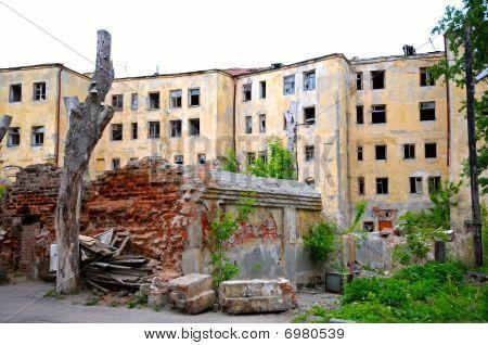 Ruins On Street