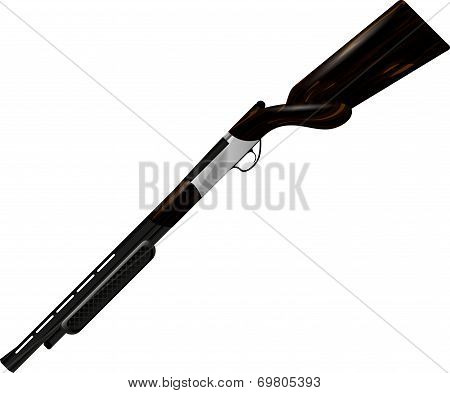 shotgun rifle