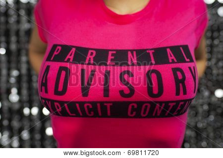 Parental Advice Tshirt Of Sexy Woman