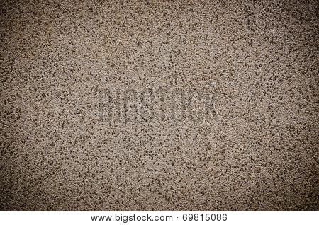 Black And White Terrazzo Floor, Stone Wall