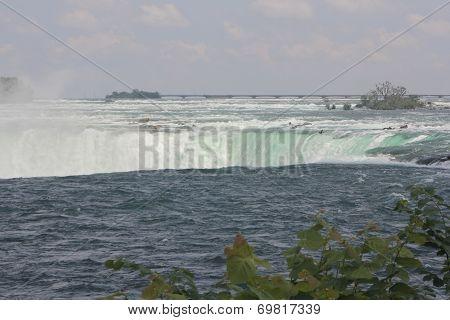 Horseshoe Falls, Canadian at Brink