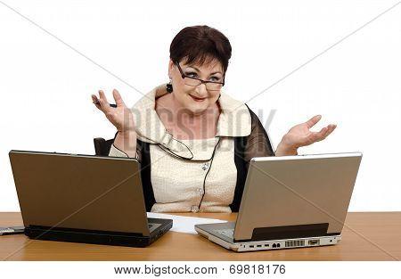 Woman Starting Math Teaching Business