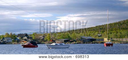 North Of Russia. Kola Peninsula