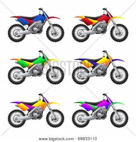 Sport motorcycles and bikes