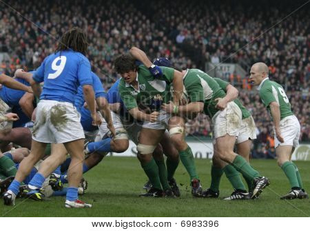 Ireland Vs Italy Rugby