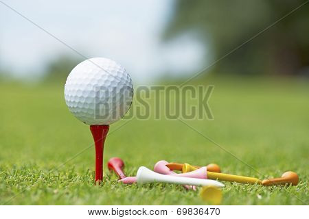 Golf Ball - Stock Image