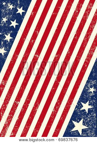 US american flag background. An american background for your publicity