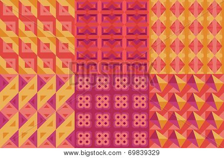 Set Of Geometric Patterns Issue 2